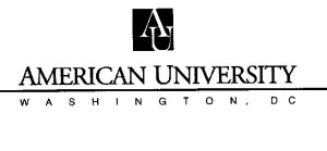 Copyright für Logo: American University