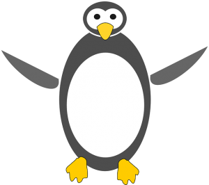 The Linux penguin - by Nemo, licensed under a Public Domain CC0 license, source: http://pixabay.com/de/tux-pinguin-linux-symbol-zeichnung-36838/